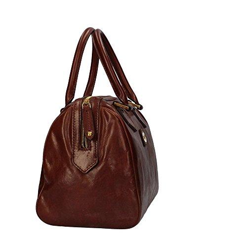 The Bridge Story mujer Barrel Bag Bolso de mano piel 30 cm brown_brown, braun
