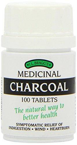 THREE PACK Braggs charcoal tablets product image