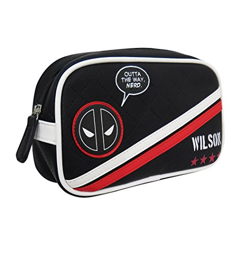 Deadpool Toiletry Cosmetic Makeup Bag