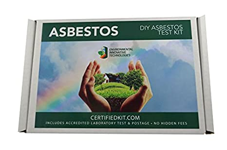 Amazon professional asbestos do it yourself test kit by eit professional asbestos do it yourself test kit by eit prepaid lab testing and shipping perfect solutioingenieria Image collections