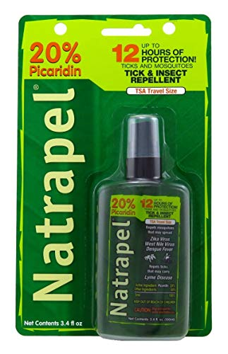 Natrapel 12-Hour Insect Repellent 3.4 Ounce Pump Carded (100ml) (2 ()