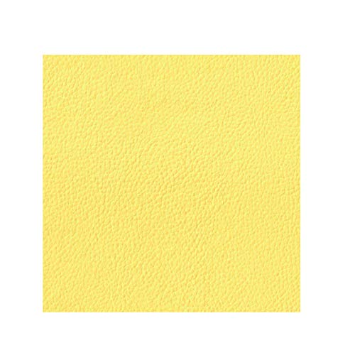 - Faux Leather Fabric Calf Yellow ( 1 yard )