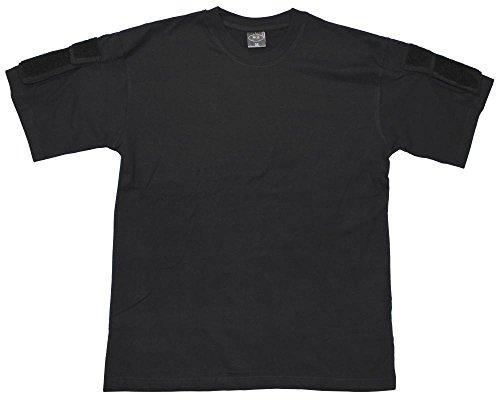 MFH US Maglietta, manica corta, nero, con Borsa manica - large