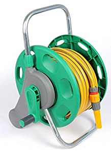 2431 Assembled Reel + 25 Metres of Hose + Fittings by Hozelock Ltd