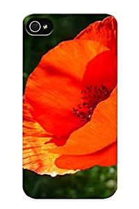 705a12d4846 Poppy Flower Awesome High Quality Iphone 4/4s Case Skin/perfect Gift For Christmas Day