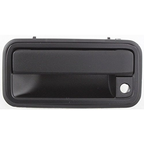 APA 88-02 Chevrolet GMC C/K Full Size Pickup Black Front Outer Door Handle Left Driver Side 15742229