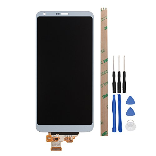 For LG G6/H870 Digitizer Replacement HYYT LCD Display and Touch Screen Digitizer Glass Replacement Full Assembly for LG G6/H870 (gray) by HYYT