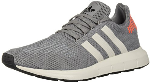 adidas Originals Men's Swift Running Shoe Black/Grey, 9.5 M US