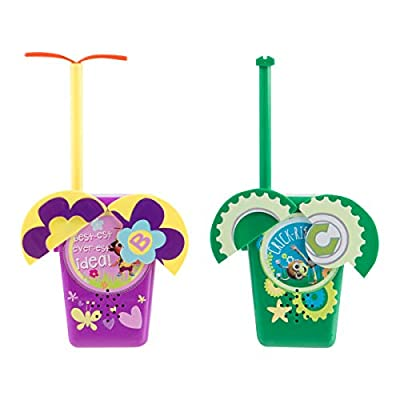 Beat Bugs Bugged Out Indoor/Outdoor Walkie Talkies with Flexible Antenna: Toys & Games [5Bkhe0306114]