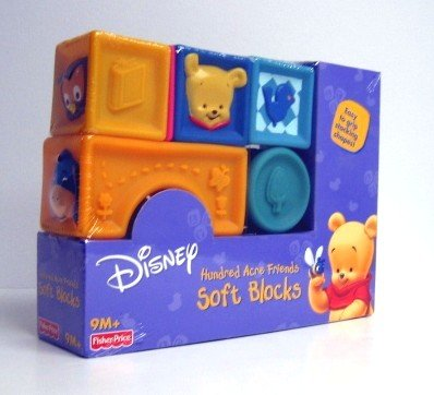 Winnie the Pooh - Toys - Hundred Acre Friends Soft Blocks