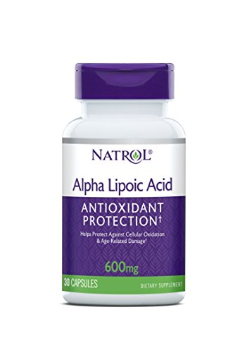 Natrol Alpha Lipoic 600mg Capsules