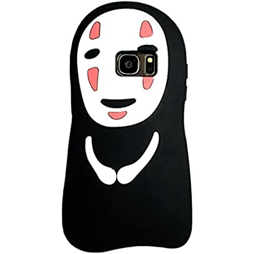 Samsung Galaxy S7 Edge Case, MC Fashion Cute 3D Japanese Cartoon Spirited Away No-Face Kaonashi Protective Silicone Phone Case for Samsung Galaxy S7 Sales