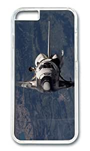 iPhone 6 Case,VUTTOO Stylish Space Shuttle Discovery Hard Case For Apple iPhone 6 (4.7 Inch) - PC Transparent