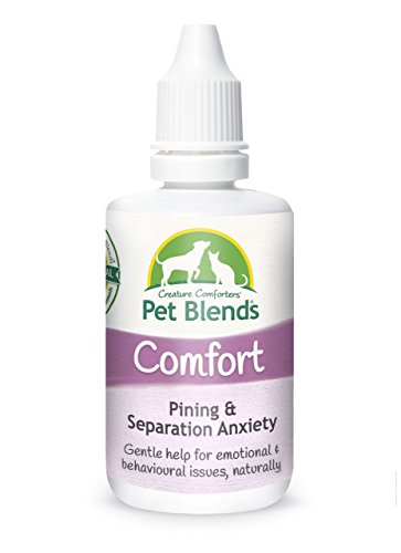 Pet Remedy for Separation Anxiety, Pining, Stress, Kennels and Re-homing. To Naturally Settle Dogs, Cats and Horses. The Original Comfort Pet Blends Flower Essence 50ml