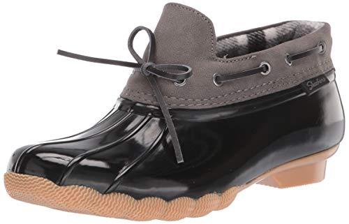 Skechers Women's Pond-Posy ONE-Waterproof Bow Duck Shoe Rain Boot