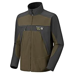 Mountain Hardwear WINDSTOPPER Tech Jacket - Men's Jackets XXL Otter