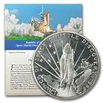 1988 MH Marshall Islands 5 Dollar Space Shuttle BU Copper Brilliant Uncirculated