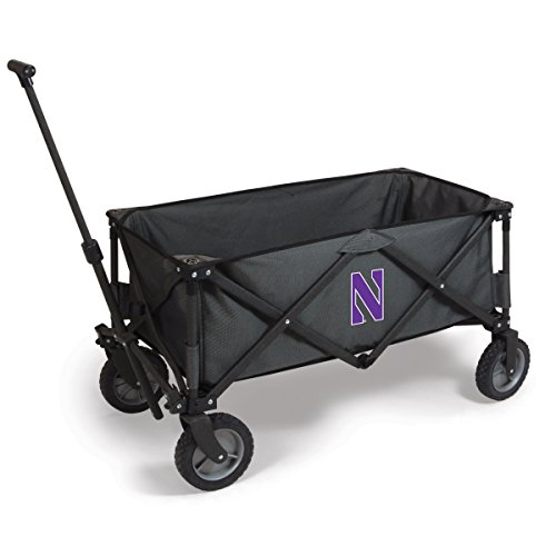 NCAA Northwestern Wildcats Adventure Digital Print Wagon, One Size, Dark Grey/Black by PICNIC TIME