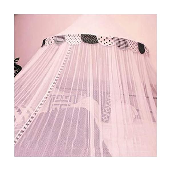 Bulawlly Letto a baldacchino di zanzara della Rete della Maglia Leggera, Chiffon mosqutio Net, Baby Coperta Letto per… 4 spesavip