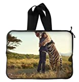 Tiger Hug Laptop Sleeve 13 / 13.3 Inch for Macbook Pro 13/macbook Air 13 and Laptop Case 13.3 Inch Dell/hp/lenovo/sony/toshiba/ausa /Acer/samsung Laptop Bag