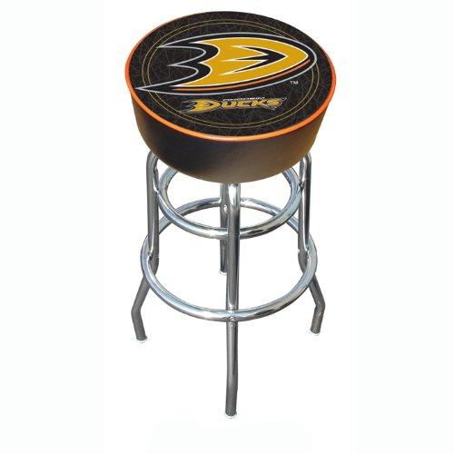 NHL Anaheim Ducks Padded Swivel Bar Stool