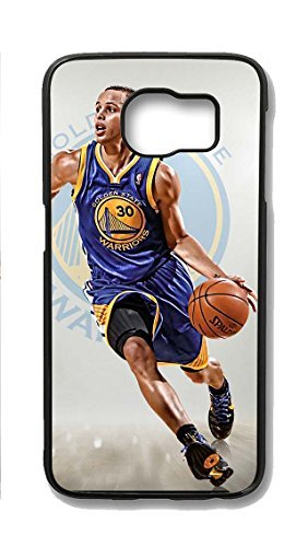 S6 Case, Galaxy S6 Cases, Hot Sale Steph Curry Samsung Galaxy S6 Case Hard PC Black Shock-Absorption Bumper Case for Samsung Galaxy S6