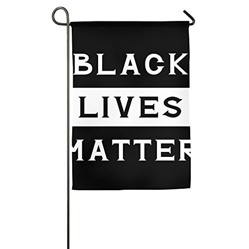 WYIZYIQA Black Lives Matter Garden Flag Yard Decorations Fla