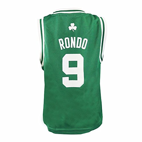NBA adidas Rajon Rondo Boston Celtics Toddler Revolution 30 Replica Jersey - Kelly Green (2T)