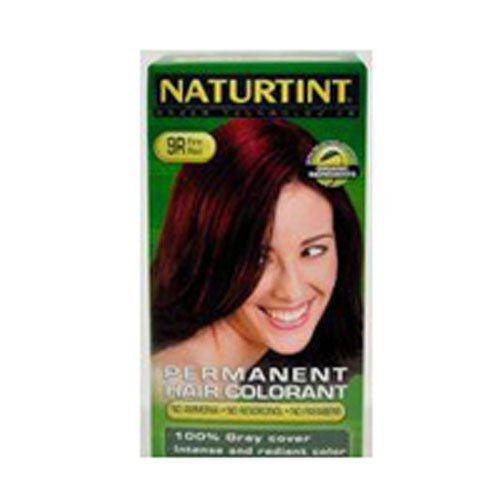 - Naturtint 9R Permanent Fire Red Haircolor Kit, 4.5 Ounce - 3 per case.