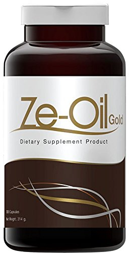 Ze Oil Cold Pressed Natural Oil (Coconut Oil with Garlic+Perilla Oil+Rice Bran Oil+Rice Germ) 300 Capsules (500 ml/capsule) Thai FDA No 30-1-18357-1-0001