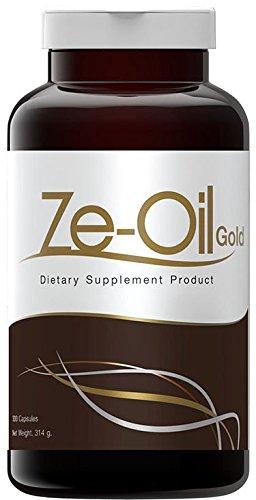 Ze Oil Cold Pressed Natural Oil (Coconut Oil with Garlic+Perilla Oil+Rice Bran Oil+Rice Germ) 300 Capsules (500 ml/capsule) Thai FDA No 30-1-18357-1-0001 by ze-oil
