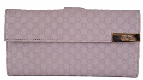 Gucci Continental Long Wallet - Gucci Women's Violet Purple Leather GG Continental Wallet