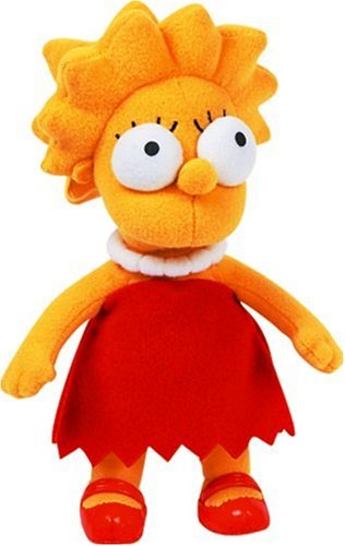 United Labels Simpsons - Lisa Peluche 22 Cm
