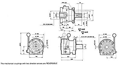 Embrague Mecánico, 40 kW, reversible, para grupo 2 y 3 SAE A bombas, 26 - 30311: Amazon.es: Bricolaje y herramientas