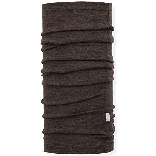 MERIWOOL Unisex Merino Wool Neck Gaiter - Charcoal Gray