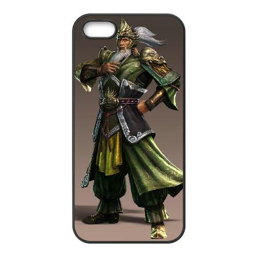 H6P67 dynasty warriors K4V1XL coque iPhone 5 5s cellulaire cas de téléphone couvercle coque noire RX6UQM4KE