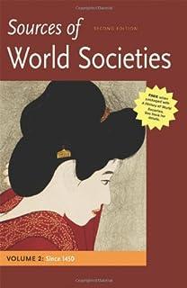 Amazon a history of world societies volume c 1775 to the 2 sources of world societies volume ii since 1450 fandeluxe Choice Image
