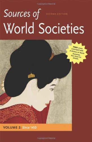 Sources Of World Societies,Vol.2