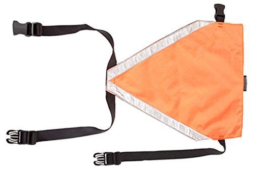 Mendota Pet Visi-Vest Dog Visibility Vest, Orange, Large
