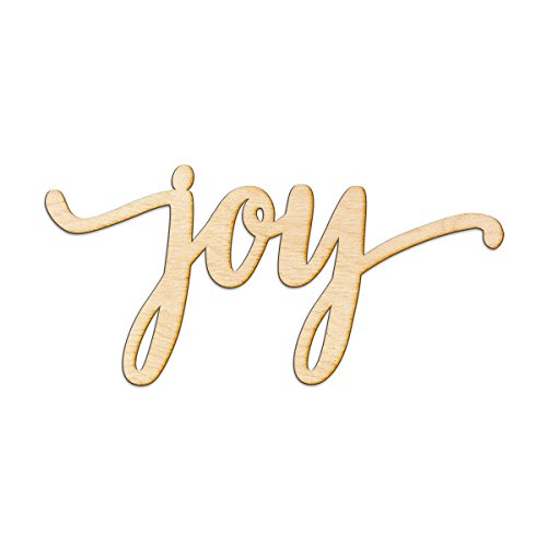 (Joy Script Wood Sign Home Decor Wall Art Unfinished Charlie 8