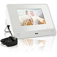 "Pyle 7"" Waterproof Rated DVD Player[Portable Water Resistant CD/DVD Player] Built-in Rechargeable Battery 