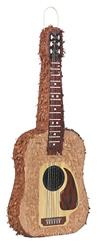 Acoustic Guitar Pinata (Guitar Cutouts)