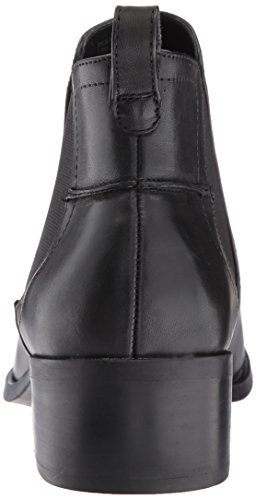 Steve Madden Women's Dicey Ankle Bootie Black Leather hYrE1