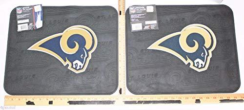 Northwest NFL St Louis Or LA Rams Football Rear Vinyl Floor Car Truck Mats