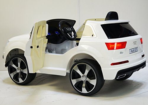 KIDS-CAR-AUDI-Q7-LICENSED-WITH-PARENT-REMOTE-CONTROL-BATTERY-12V-TOTAL-RIDE-ON-ELECTRIC-CAR-For-kids-3-8-years-Opening-doors-POWER-WHEELS-car-Ride-on-toys-Car-to-drive-for-kids-Truck-12-volt