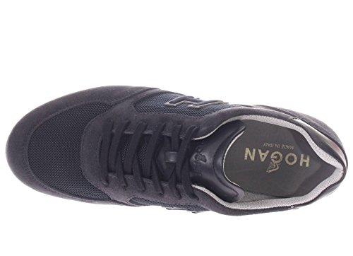 Hogan Uomo Sneaker HXM2050Y810I9M0071 Sneaker H Olimpia H Flock blu