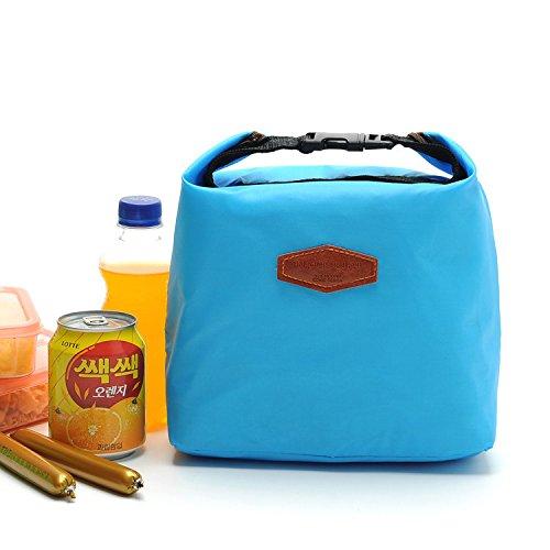 UltiFit (TM) Pr¨¢ctica t¨¦rmica nevera port¨¢til que acampa impermeable de la comida campestre bolsa del bolso del almuerzo bolsa de almacenamiento Azul