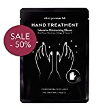 Moisturizing Gloves Hand Mask - Best Collagen Gloves for Hands and Nails - Spa Treatment with Shea Butter - Moisturizer Hands Mask for Women & Men - Repairs Dry Hands - Touchscreen Material (1 Pack)