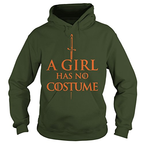 Non Costumes Offensive (A Girl Has No Costume Halloween Shirt)