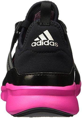 adidas Niya Ff, Zapatillas de Running para Mujer Negro / Gris / Rosa (Negbas / Plamet / Rosimp)